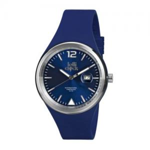 Montre-bracelet LOLLICLOCK-EVOLUTION DATE BLUE